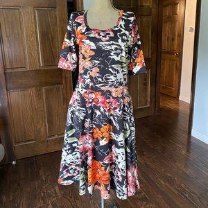 Lularoe - Nicole Style Dress - Size Med